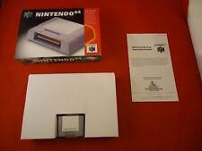 OFFICIAL Nintendo 64 N64 Controller Pack Pak Authentic Original COMPLETE w/ Box