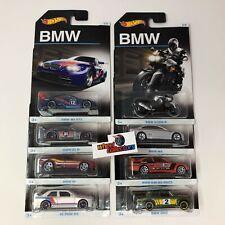8 Car Set * Hot Wheels BMW Series * WE30