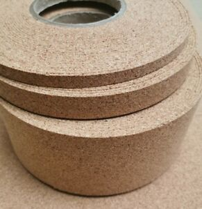 MODEL SCENIC CORK ROLL STRIPS ADHESIVE BACKED 2MMTHK X 5MTRS VARIOUS WIDTHS