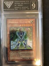 Yu-Gi-Oh! : Ovedrdrive Teleporter - 1ed - Crossroads of Chaos - GET GRADED 9