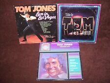 TOM JONES     LOT OF 3 VINYL RECORDS LPS     CLEARANCE!!!
