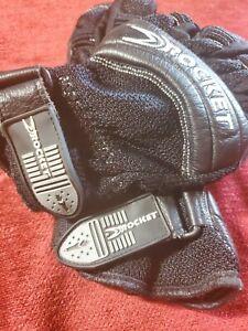 Joe Rocket Bike Gloves Men's  Black  pair used bike pro size 10