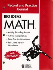 Big Ideas MATH: Common Core Record and Practice Journal Red by HOLT MCDOUGAL