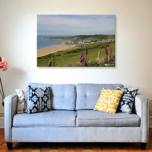 Woolacombe Day - Various Sizes - North Devon Canvas - Ready to Hang