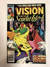 Vision And The Scarlet Witch (1985) # 1 (VF) Canadian Price CPV  | Wandavision
