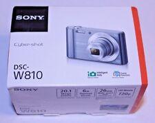 Sony Cybershot DSC-W810 20.1 MP 6X Zoom digital camera video imaging pc mac