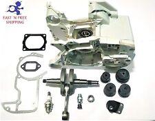 Stihl MS660 MS650 066 Crankcase + Crankshaft + AB buffer + gasket set