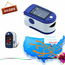 FDA Pulse Rate Oximeter oxymeter Spo2 BLOOD oxygen PR FREE CASE LED DEIPLAY 50DL