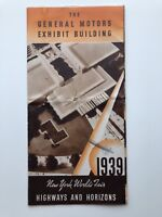 1939 New York's World Fair The General Motor Exhibit Building Brochure