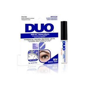 Duo Quick Set Eyelash Glue Striplash Adhesive False Lash - White/Clear - 5g