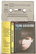 JEAN GUIDONI cassette K7 tape JE MARCHE DANS LES VILLES