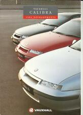 VAUXHALL CALIBRA 2.0i 8v, 2.0i 16v AND TURBO 4 x 4 SALES BROCHURE FOR 1994