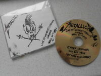 "METALLICA, ""Nothing Else Matters,Sad But True + Enter Sandman"" LIVE CD EP-QUEEN"