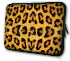 "Leopard Case Soft Bag Sleeve For 7"" Pendo Pad / Pioneer Dreambook Tablet MID PDA"