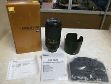 Nikon AF-P NIKKOR 70-300mm f/4.5-5.6E ED VR Lens - Black