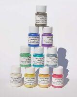 10 x Effektpigmente Metallicpigment Einfärben  Epoxidharz Metallic Pigmente