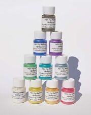 10 x Effektpigmente Perleffekt Metalliceffekt Farbpigment Epoxidharz Nailart A4