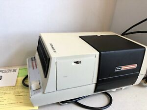 Telex SM-1000 Filmstrip Slide Projector 8520 Manual 3930 in Box & Instructions