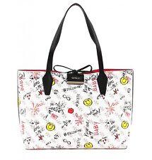 GUESS Shopper Bag Bobbi Inside Out Tote Logo Pink