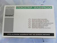 Sterostrip Waterproof Washproof Spot Plasters Quantity 100