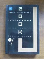 SIGNED - THE BOOK OF J. - Rosenberg and Bloom - 1st  HCDJ 1990  Hebrew - Job