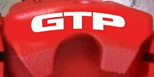 Pontiac GTP Curved Brake Caliper Decals (8)