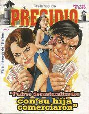 RELATOS DE PRESIDIO MEXICAN COMIC #146 MEXICO SPANISH HISTORIETA 1997 CRIME