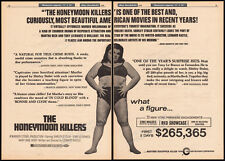 THE HONEYMOON KILLERS__Original 1970 Trade print AD promo_poster__SHIRLEY STOLER
