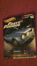 "Hot Wheels ""Premium - Fast & Furious - Fast Imports"" #3/5 Ford Escort RS 1600"