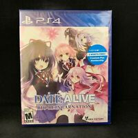 Date a Live Rio Reincarnation (PS4 / Playstation 4) Brand New / Region Free