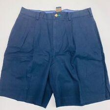 Tommy Hilfiger Mens Pleated Golf Shorts Sz 33  Blue Golf Shorts
