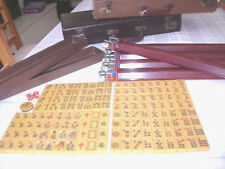 "Pristine Vintage""TYL"" Bakelite Mah Jongg Set-Superb Condition-Ruby Rks-BIN bonus"
