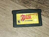 The Legend of Zelda Link Past Four Sword Nintendo Game Boy Advance GBA Authentic