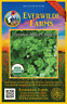 500 Organic Moss Curled Parsley Seeds - Everwilde Farms Mylar Seed Packet