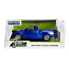 Just Truck Series: 1999 Ford F-150 SVT Lightning (Blue/White Stripes) 1/24 Scale