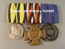 3er medaglie SPANGE: MEDAGLIA al merito re Guglielmo II, front combattenti, poiché 9 anni
