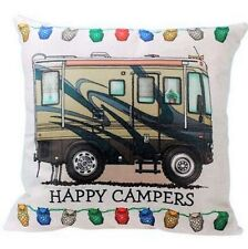 NEW Pillow Cover Motor Home Coach Camping RV Campers Beige Square 18X18 USA
