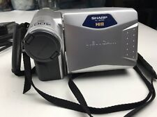 New ListingSharp ViewCam Hi8 Vl-Ah151U Camcorder Video Camera 8mm Vhs w Cables Tested Works