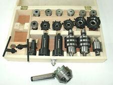 Revolverkopf Satz MK3 für 6 Werkzeuge, z.B. Weiler Drehmaschinen