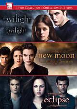 Twilight/New Moon/Eclipse  DVD NEW