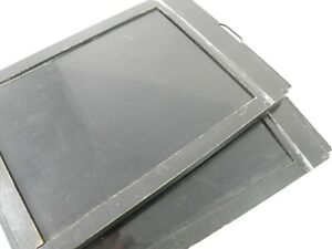 2 Kodak 5x7'' Large Format Cut Film Holders with Both Darkslides one extra free