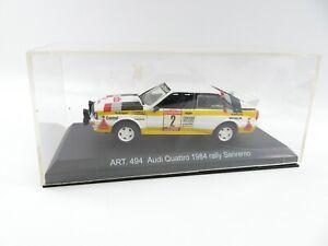 Detail Cars 1.43 Audi Quattro 1984 Rally Sanremo No 494 #3615