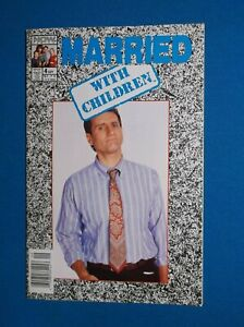 MARRIED WITH CHILDREN # 4 - ED O'NIEL PHOTO COVER - VF/NM 9.0 - CLASSIC TV SHOW