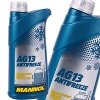 1 Liter MANNOL Kühlerfrostschutz Grün Antifreeze AG13 G13 Frostschutz Konzentrat