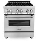 """ZLINE 30"""" Dual Fuel Range w/ Gas Stove and Electric Oven RA-30  photo"""