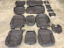 2014-2017 Chevrolet Silverado Crew Cab Katzkin Cocoa Dune Leather Seat Kit Java