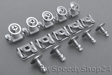 10 Set Befestigungsklammer Blechmutter Clips Schrauben BMW E39 E38 E52 Z8