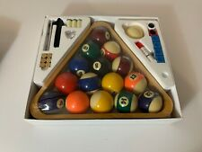 Sportcraft Billiard (Pool) Starter Kit | Pool Balls | Chalk | Tips | New in Box