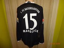 1.FC Kaiserslautern Original Langarm Matchworn Trikot 09/10 + Nr.15 Manjeck Gr.L