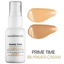 bareMinerals PRIME TIME BB Primer Cream Broad Spectrum SPF30 Light/Medium NEW